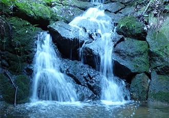 深山公園の幻の滝