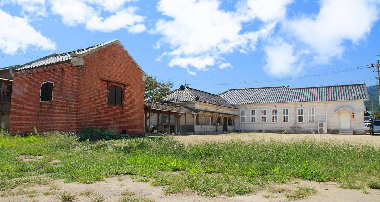 歴史ある建物の旧味野専売局
