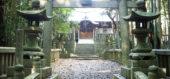 緑に囲まれた日吉神社
