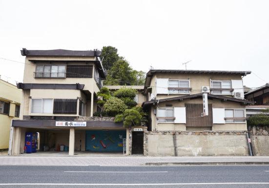 菊水旅館の外観