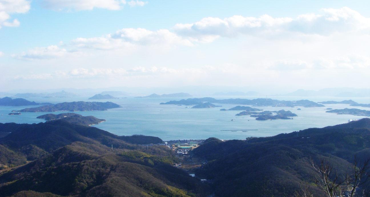 金甲山から見える瀬戸内海