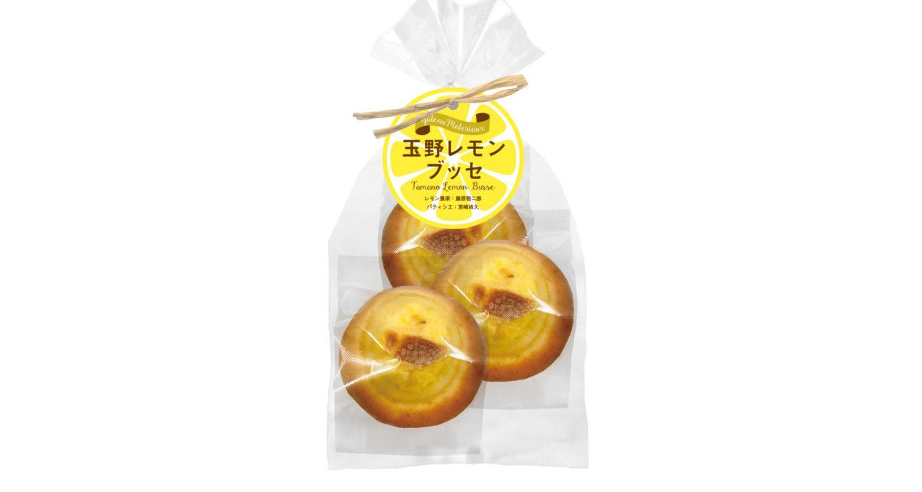 専用の袋に入ったレモンブッセ