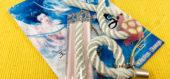竜宮城の乙姫様の描かれた台紙と支綱3種類