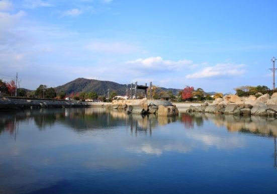 田井親水公園の様子