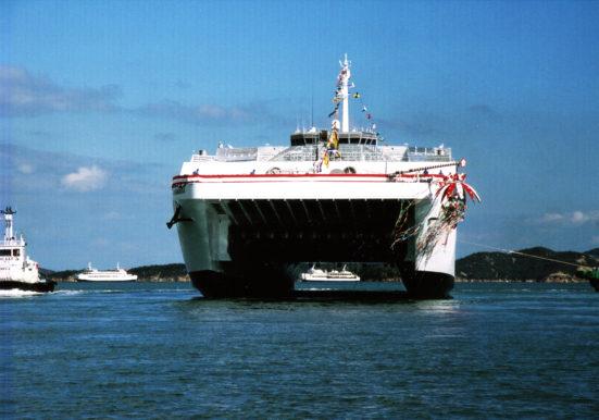 SUPERLINER OGASAWARA 進水