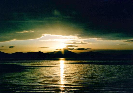 日の出・田井