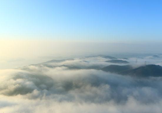玉野の雲海