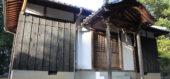 光が差し込む大崎八幡宮